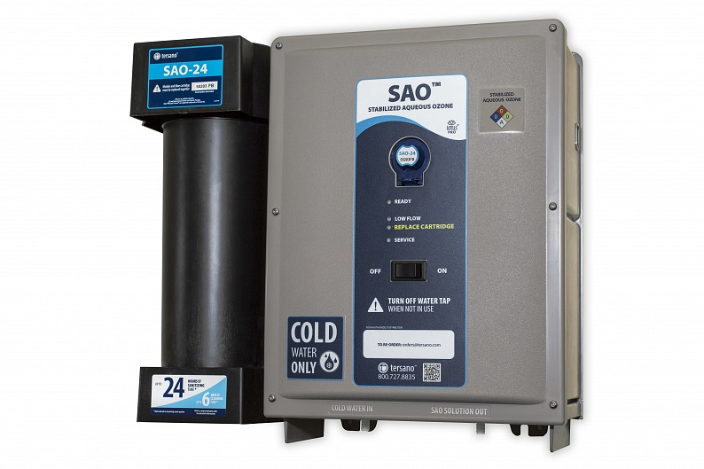 SAO water offers solution for cleaning without chemicals