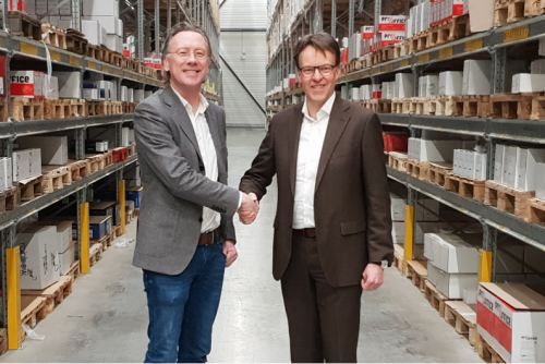 Wecovi storing products at Huisman Warehouse in UK